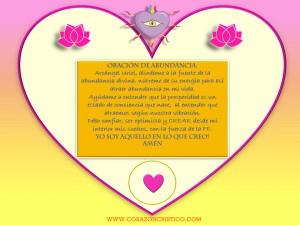 Oración de abundancia