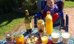 Guadalupe Herrero, desayuno sano.